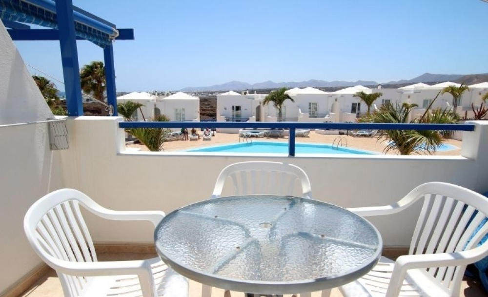 1 Bedroom 1 bathroom apartment with communal pool in Matagorda - Matagorda - lanzaroteproperty.com