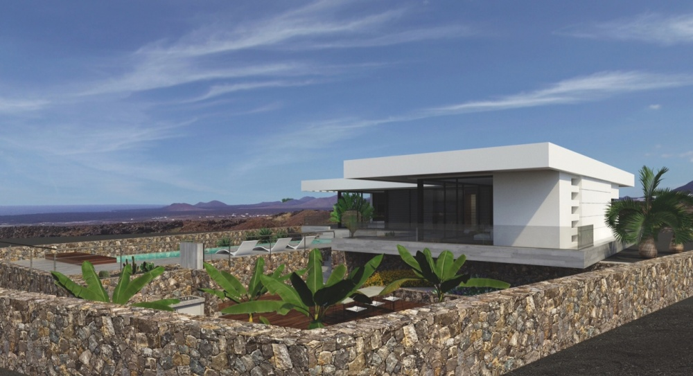 Plots of land for sale with project and licence in Las Breñas - Yaiza - lanzaroteproperty.com