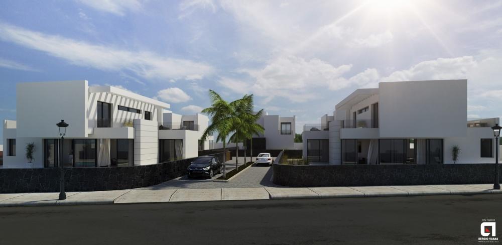 New build - 3 bedroom villa for sale in Puerto del Carmen - Los Mojones - lanzaroteproperty.com