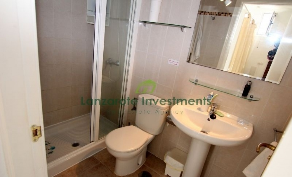 Studio apartment for sale on a well maintained complex - Matagorda - lanzaroteproperty.com